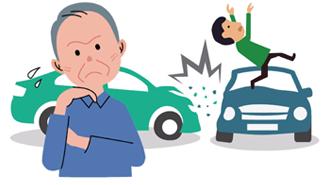 高齢者運転による事故発生について